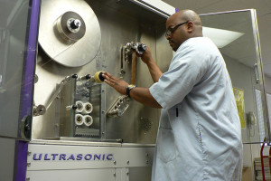 Ultrasonic Film Cleaning