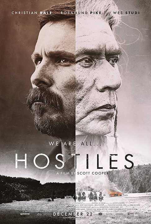 """Don't miss """"Hostiles"""" in theaters now!"""