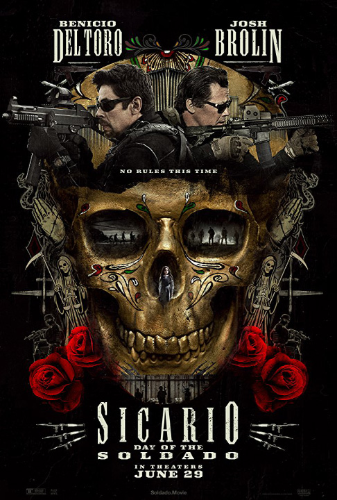 "The highly anticipated ""Sicario 2: Soldado"" is in theaters this weekend!"