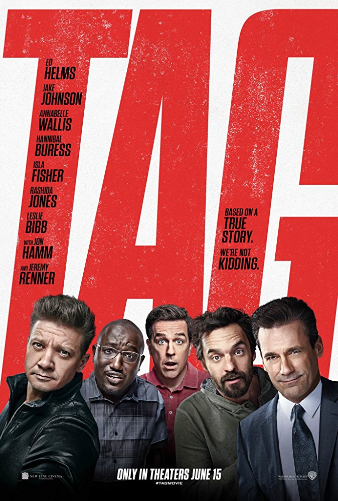 """TAG"" now in theaters!"