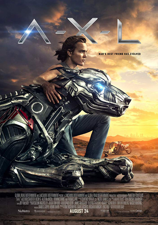 """A.X.L."" is in theaters this weekend!"