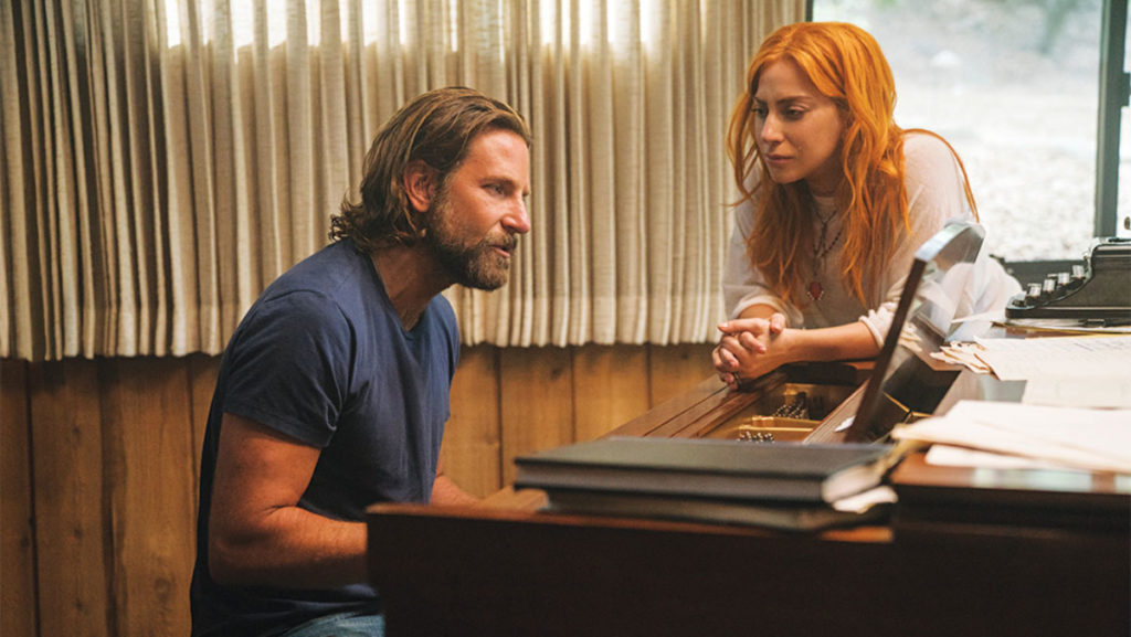 """A Star Is Born"" records the film's songs live."