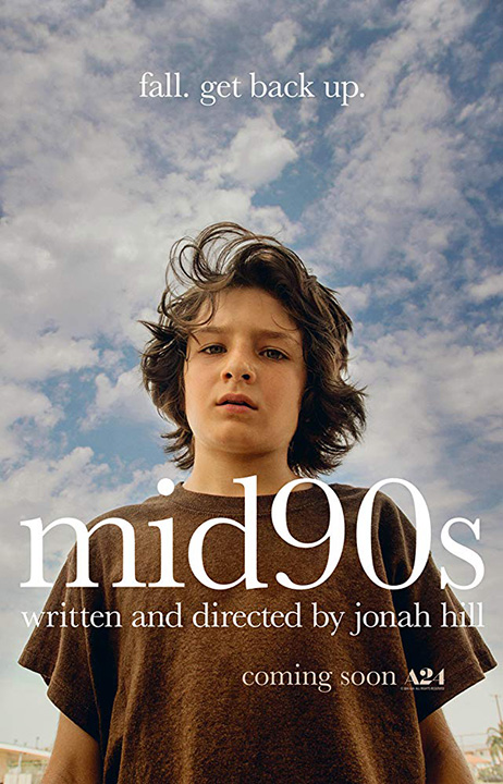 "Jonah Hill's directorial debut, ""Mid90s"" is in theaters now!"