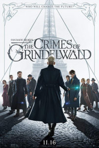 """""""Fantastic Beasts: The Crimes of Grindelwald"""" is in theaters this weekend!"""