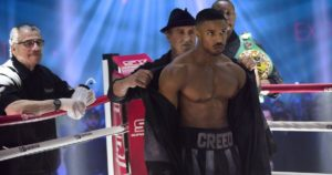 """Creed II"" made its debut in theaters over the record breaking weekend"