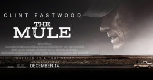 """Don't miss Clint Eastwood's """"The Mule"""" in theaters today!"""