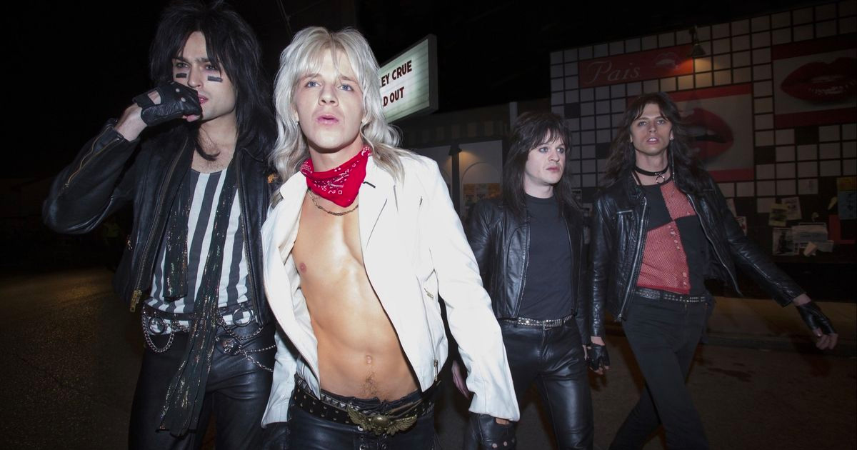 "The long anticipated Motley Crüe movie ""The Dirt"" is now on Netflix!"