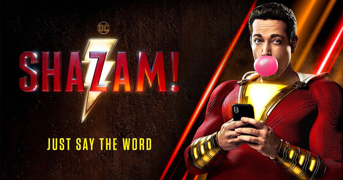 """Shazam!"" in theaters Friday!"