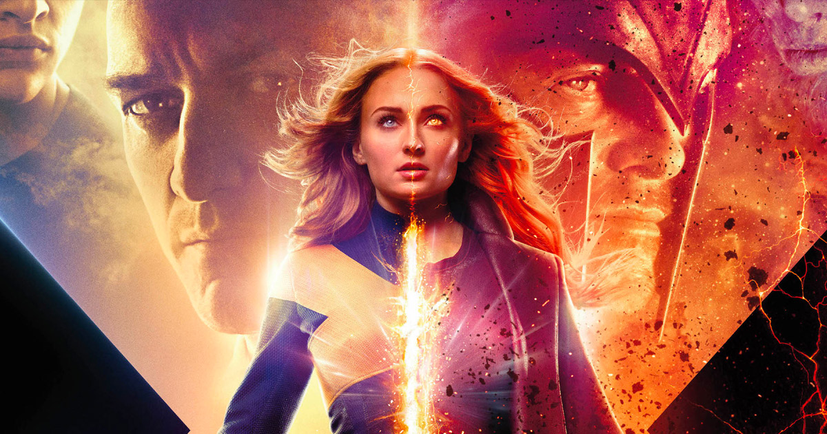 """Dark Phoenix"" in theaters now!"