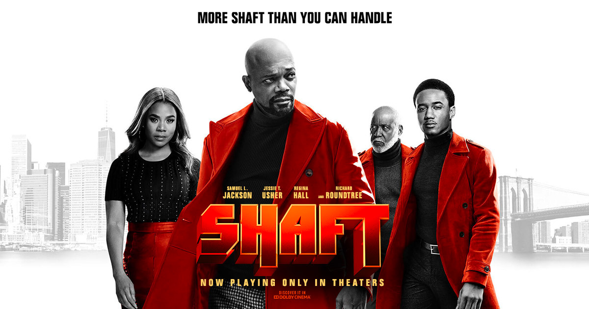"""Shaft"" now in theaters!"