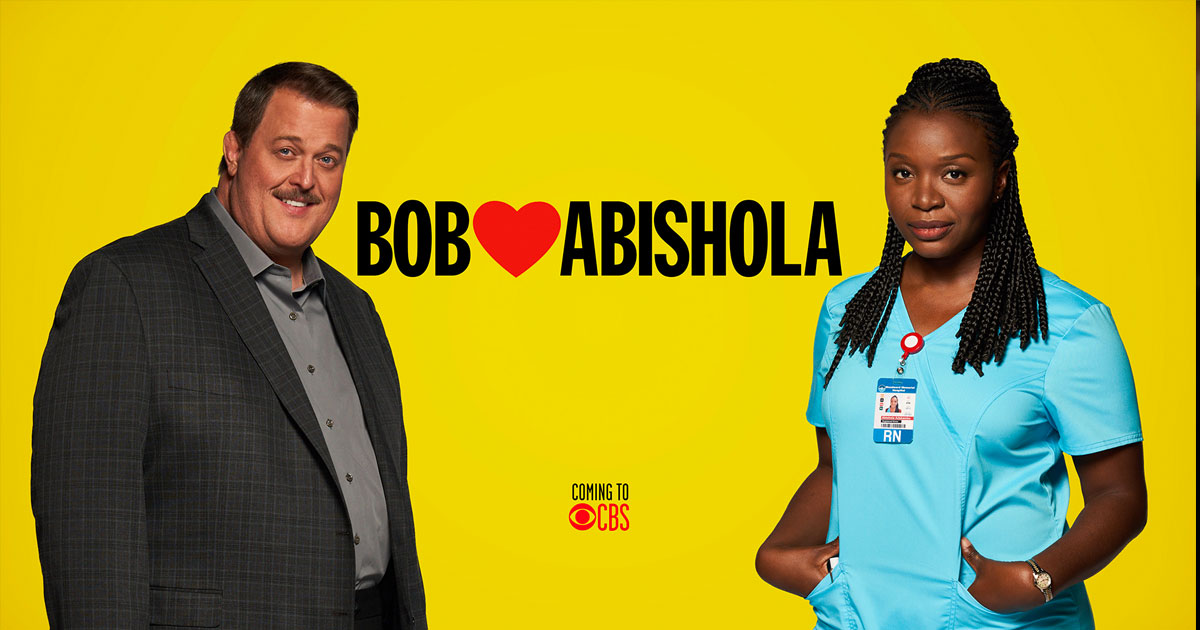 "Don't miss the Premiere of ""Bob Hearts Abishola"" on CBS, Monday Sept 23rd"
