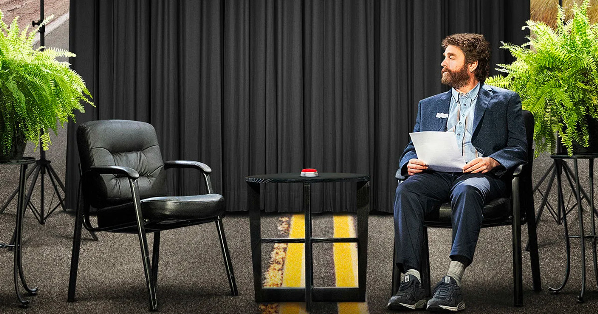 """""""Between Two Ferns: The Movie"""" now streaming on Netflix!"""