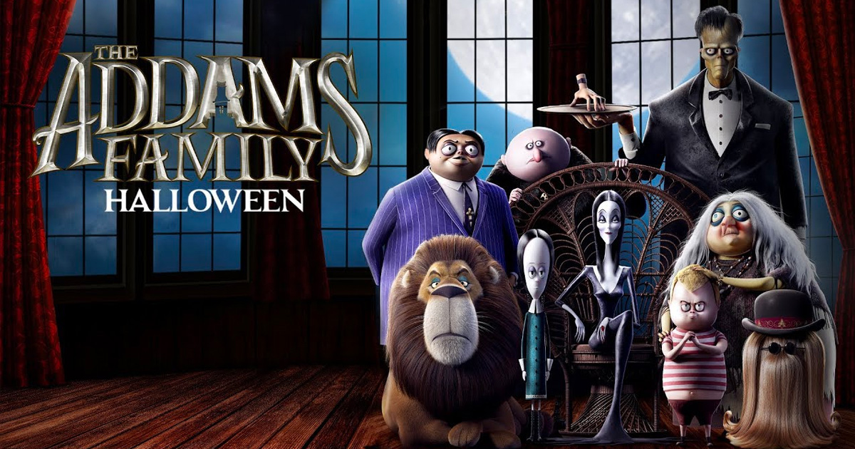 "October just got spookier with the return of ""The Addams Family"" in theaters this Friday!"
