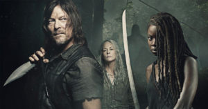 "Season 10 of ""The Walking Dead"", premiered Sunday on AMC."