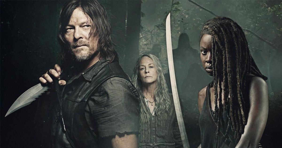 "Season 10 of ""The Walking Dead"", premiered Sunday on AMC."