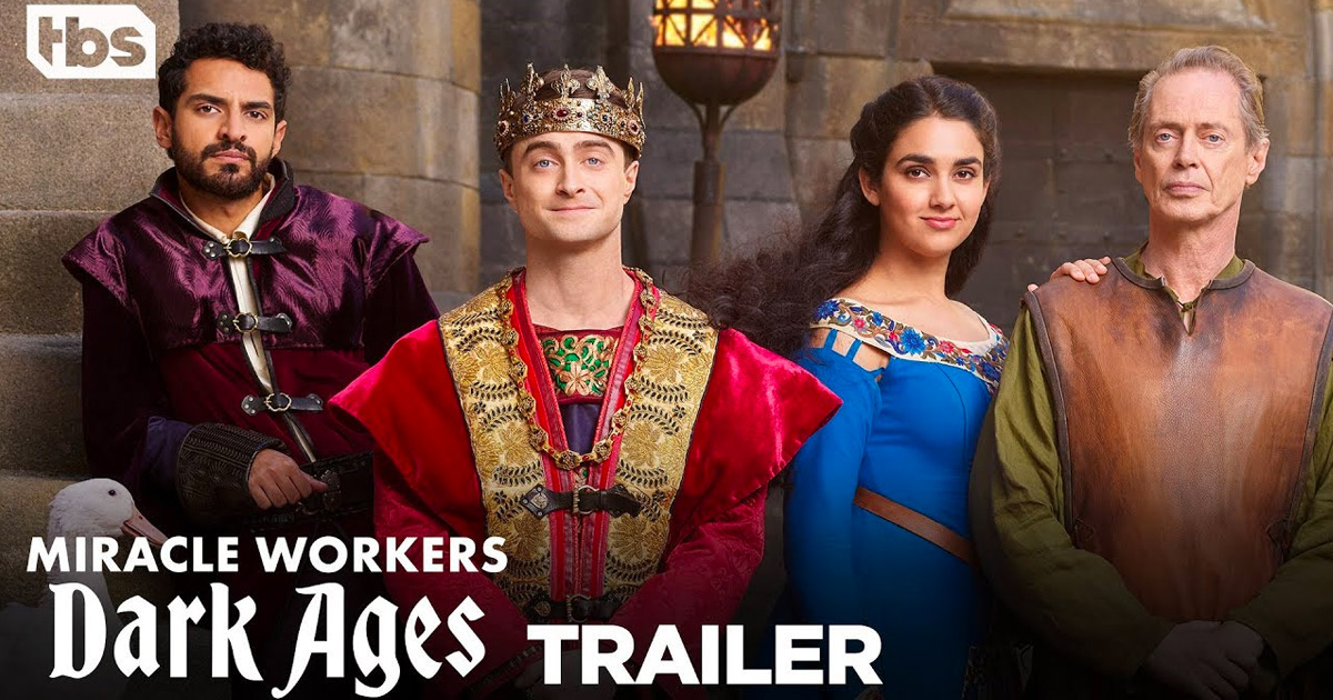 "From creator Simon Rich ""Miracle Workers – Dark Ages"" Season 2 premieres January 28 on TBS"